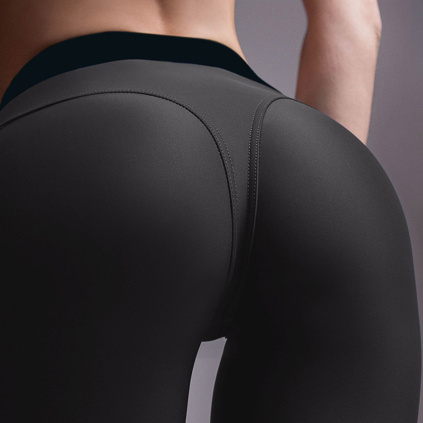 Mulheres De Fitness Compressão Leggings Hip Up sportswear Workout leggings Desgaste Ativo