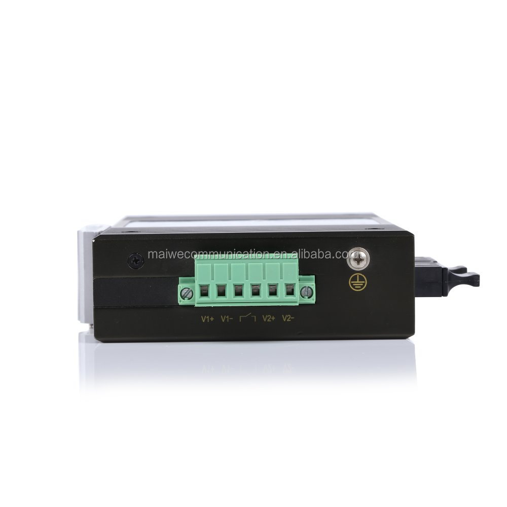 Layer2 Industrial 4 10/100 M RJ45 y 2 puertos 10/100 M FX interruptor Ethernet Industrial tipo de interruptor Ethernet