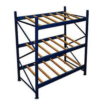 Bread shelves warehouse flow bins roller conveyor racks
