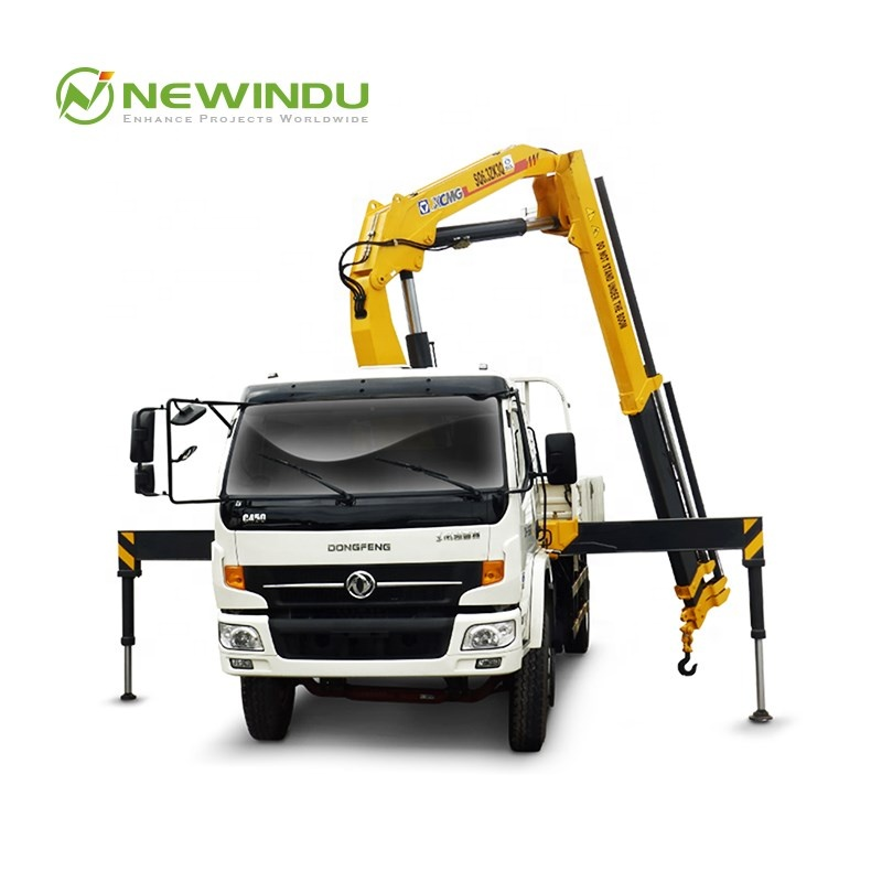 XCMG SQ16ZK4Q 16 ton telescopic boom Truck mounted crane with Dongfeng Chassis