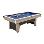 Velvet [ Game Billiard Table ] Factory Hot Indoor Game Sale Classic Style 7 Ft Billiard Table