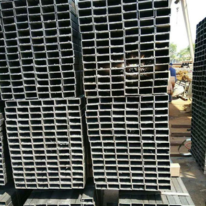 Building Material Metal Black iron q235 welded /seamless carbon square steel pipes/black steel tube