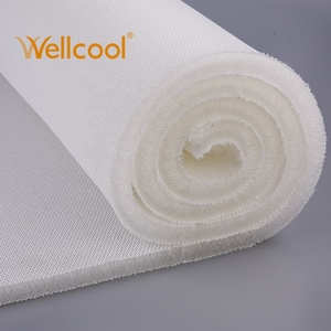 Free sample anti bacteria padded 160-230cm width 20mm thickness air mesh  fabric 3d polyester spacer for seat cushion