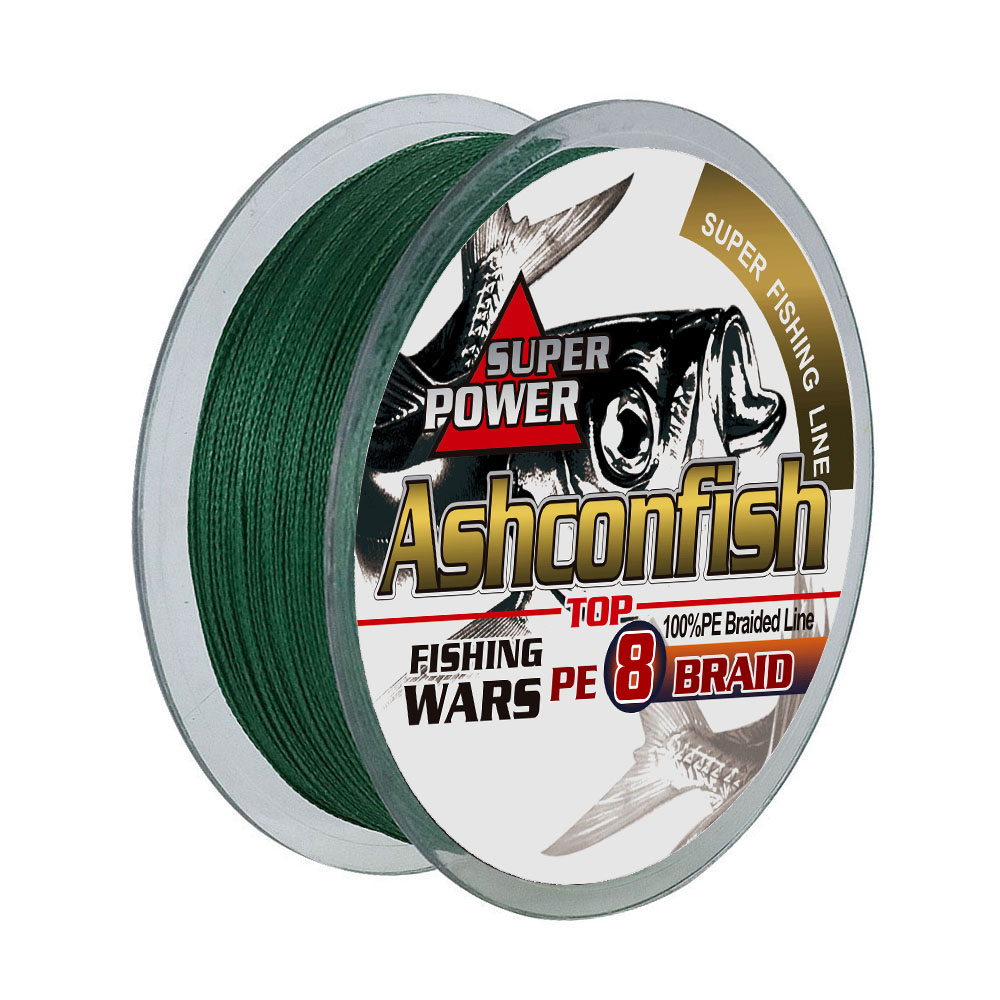 high quality 100m 8 strands PE braided fishing line for outdoor fishing tackle line fishing, 9 colours for your choice