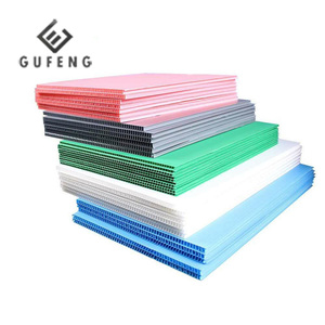 High Quality PP Hollow Sheet / PP Corrugated Plastic Sheet Polyethylene Board
