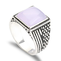 Turkish jewellery rings designs fashion large stone rings settings men's rings for sale