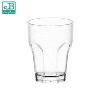 9559 Portable reusable biodegradable pc juice drink plastic cups custom logo unbreakable drinkware