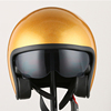 Gold Approved Motorbike Motorcycle Bike Crash vintage motocross helmet