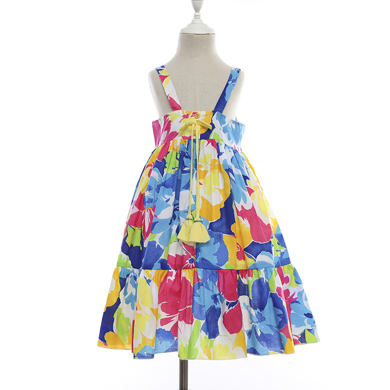 New Floral Print <strong>girls</strong> cotton frock kids frock <strong>designs</strong> for small <strong>girls</strong>