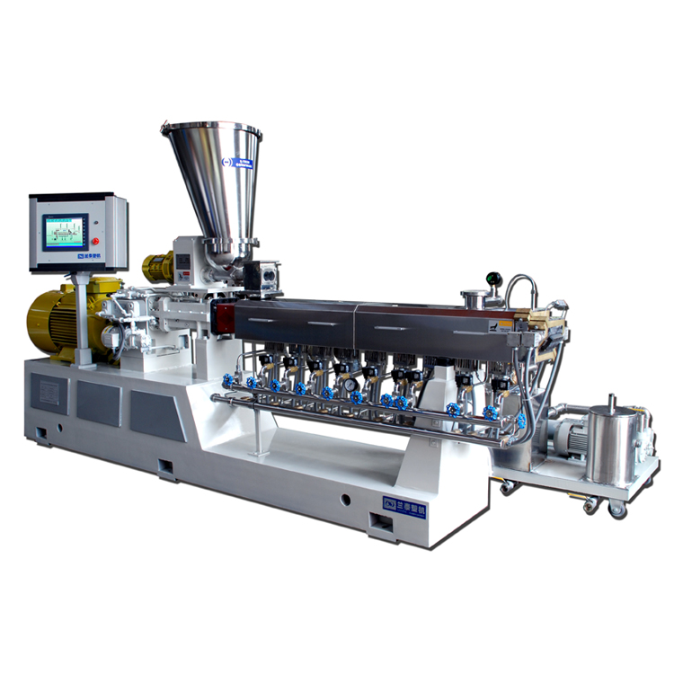Double Twin Schroef Plastic Extruder Machine
