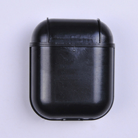 [Miroos]High Quality Custom luxury leather Protective cover for Airpods 2 blank Case 2019