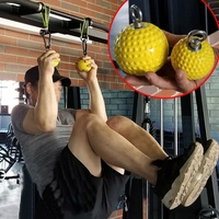 Training Arm and Back Muscles Pull ups Strengthen Ball Wrist Climbing Finger Training Hand Grip Strength ball