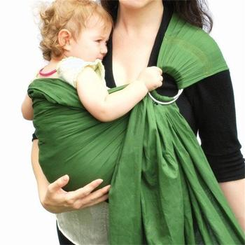 bamboo fiber baby carrier ring sling baby carrier