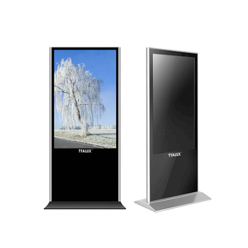 Floor Standing Touch Screen Advertising Kiosk Digital Signage Lcd Display
