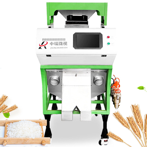 Parboiled rice color sorting machine/Sticky rice color sorter/Grain processing machine