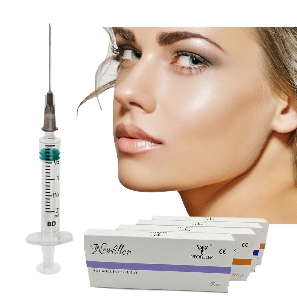 Collagen facial 1ml 2ml HA dermal hyaluronic acid injectable filler