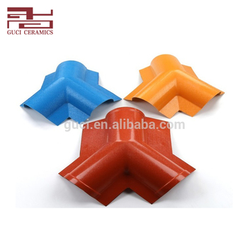 Farmhouse RoofingTee Tile House Roof Accessories Synthetic Resin Three - Way