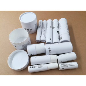 Custom paperboard containers for cosmetic container jars packing  eco-friendly paper tubes