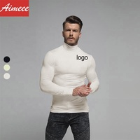 Gym Wear Men Base Layers Long sleeves Fitness Shirt