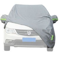 Waterproof Tear Resistance & High UV-resistance Tyvek Car Cover Dupont Tyvek Car Cover For Minivan