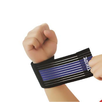 Wrist Wraps weightlifting power lifting cross training bodybuilding with thumb loop