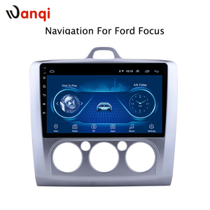 Global Free Tax Android 8.1 Car Audio Player 9 inch For Ford Focus 2006-2014 Car GPS Navigation