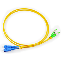 OPTICAL FIBER PATCH CORD SC/UPC-FC/APC-SM-DUPLEX fiber jumpers