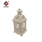 Stainless steel candle lanterns white candle lantern
