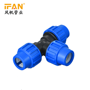 Garden irrigation hdpe pipe 40mm plumbing hdpe materials pe pipe fitting