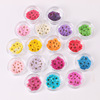 Hot sale nail art pressed dry flower nature dried flowers 16colors
