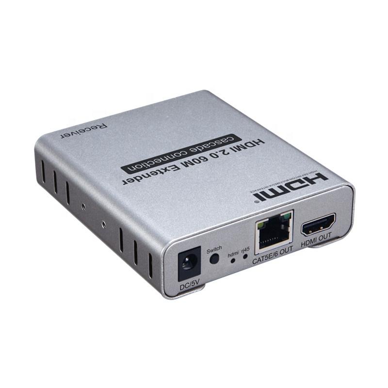 HDMI 2.0 60M Extender cascade connection