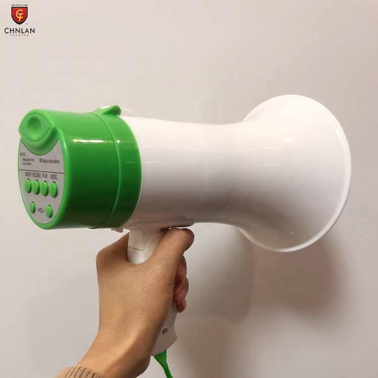 Cheap Price Portable 5w Handheld Plastic Megaphone with music