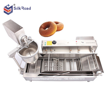 Stainless steel automatic mini donut fryer
