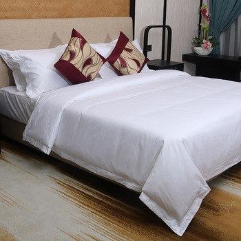 high quality luxury cotton solid color bedding sets bed sheet 100% egyptian hotel textile