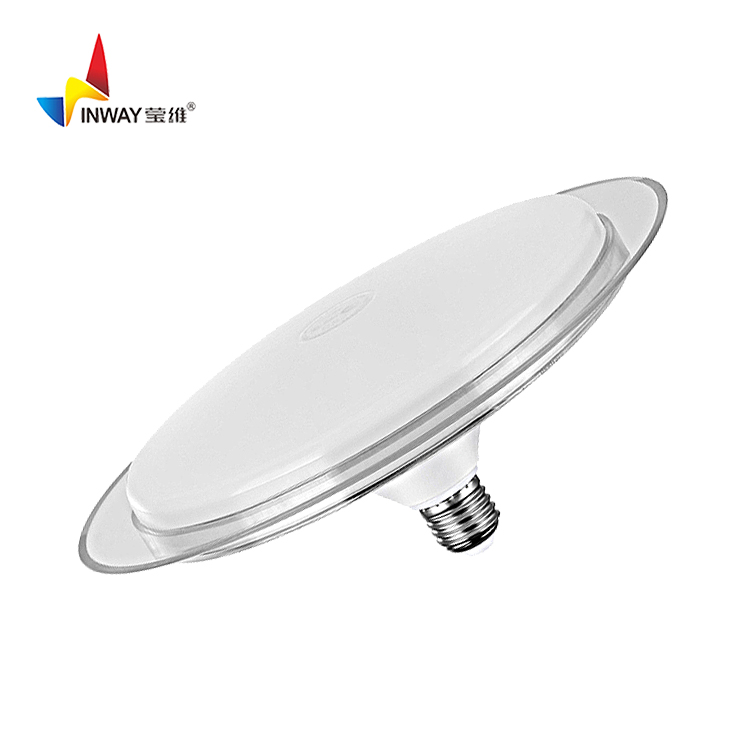 Round white UFO Lamp New product flying saucer led light bulb High lumen 50W E27 LED UFO bulb