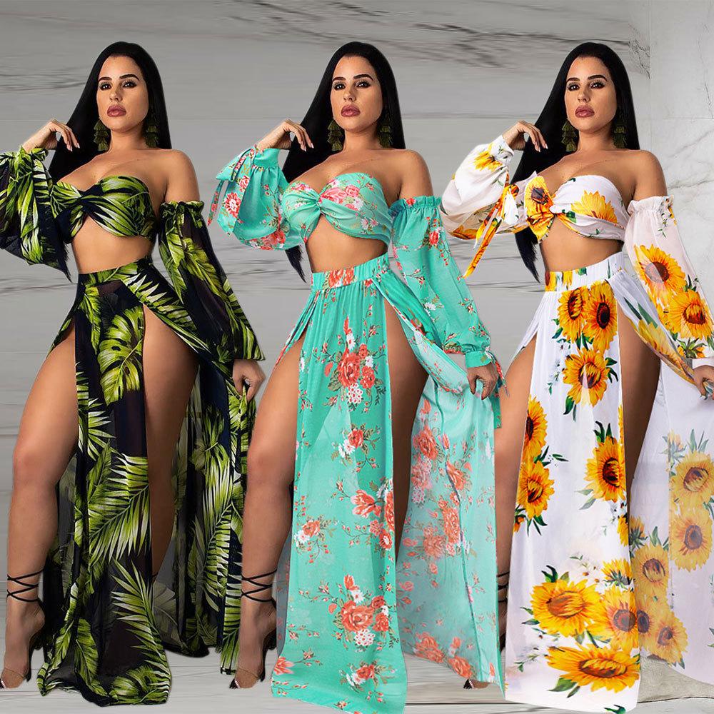 Wholesale pieces set swimsuit women summer beach bikini swimwear фото