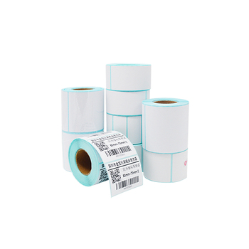 self adhesive sticker label materialscustom size