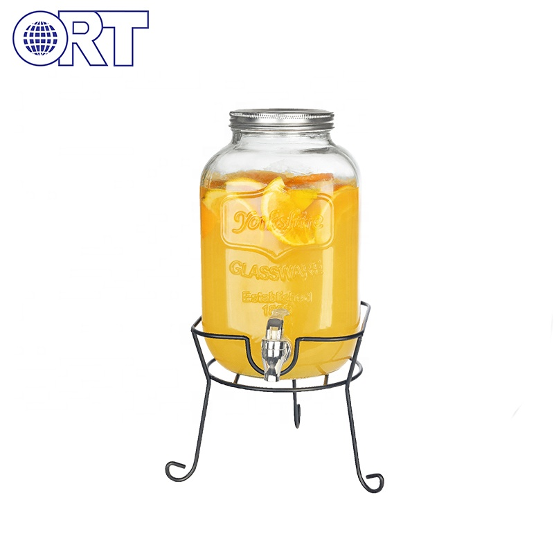 Custom logo grote juicer drink dispenser drank