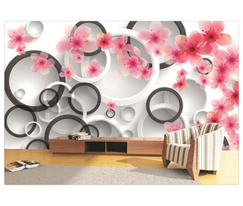 Custom Peach 3d Wall Murals Wallpaper For Interior Design Home Bedroom Buy Custom Peach 3d Wall Murals Custom Peach 3d Wallpaper Custom Peach 3d