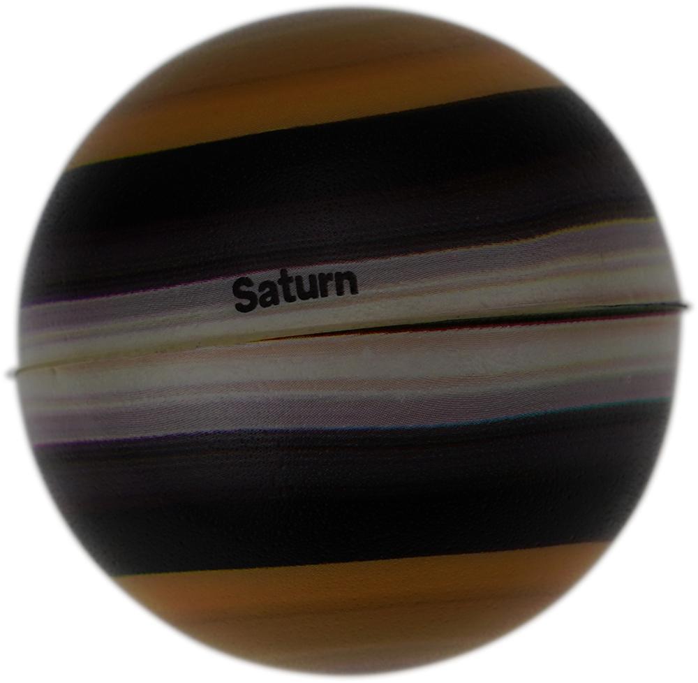 High Rising Digital Print Solar System Saturn & Rings PU Soft Foam Scented Children Educational Fun New Popular Squishy Play Toy