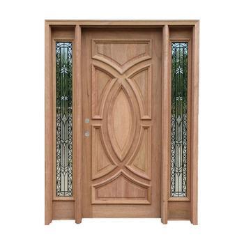 Modern House Design Main Entrance Wooden Door With Sidelites Buy Main Entrance Wooden Doors Glass Insert Solid Wood Door Main Entrance Door Design