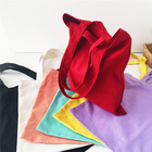 Customized foldable blank tote cotton bag