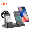 New Arrival 3 In 1 Wireless Charger Dock Station For Apple Watch earphone Charging
