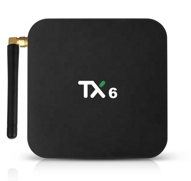 Newest Android TV Box 4GB RAM 32/64GB ROM Allwinner H6 TV Box Quad Core Android 9.0 Internet Tanix TX6 Android TV Box
