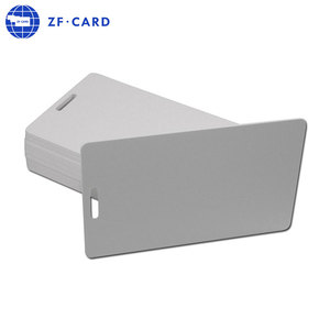 ISO Standard PVC Rfid Blank White Card Printable Glossy Surface Patient ID Registration Cards