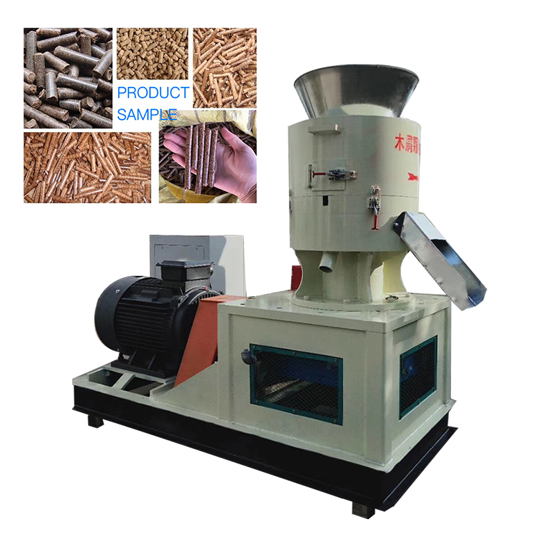 Complete agricultural waste wood <strong>pellet</strong> making machine plant for sale