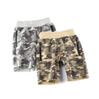 Top selling fashion summer camo cotton kids shorts for boys