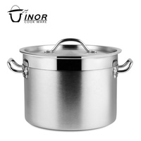 Wholesale stainless steel soup pot&stock pot with lid
