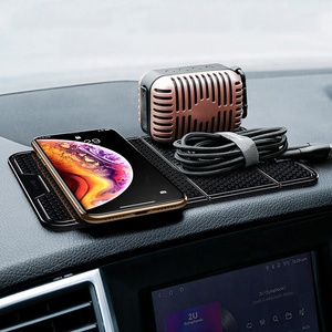 Multi-Function Cell Mobile Phone Car Holder for Wall Desk Sticker Socket Nano Rubber Pad Car Bracket Holder Stand