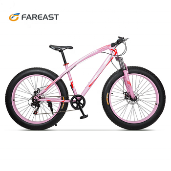 26 Inch 7 Speed Fat Tyre bike snow bike for adults